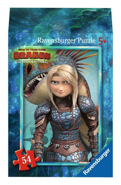 Ravensburger Mini Puzzle Dragon 3 Hidden World Astrid Kinderpuzzle 54 Teile 0943561