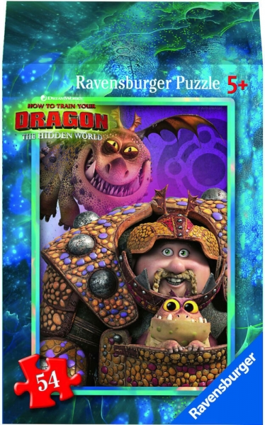 Ravensburger Mini Puzzle Dragon 3 Hidden World Astrid Kinderpuzzle 54 Teile 0943562