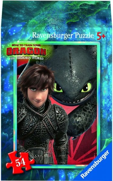 Ravensburger Mini Puzzle Dragon 3 Hidden World Astrid Kinderpuzzle 54 Teile 0943563