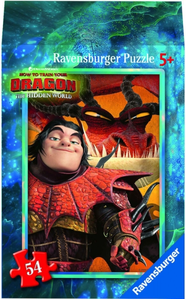 Ravensburger Mini Puzzle Dragon 3 Hidden World Astrid Kinderpuzzle 54 Teile 0943564