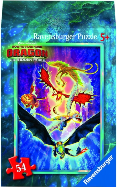 Ravensburger Mini Puzzle Dragon 3 Hidden World Astrid Kinderpuzzle 54 Teile 0943565