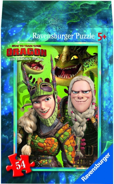 Ravensburger Mini Puzzle Dragon 3 Hidden World Astrid Kinderpuzzle 54 Teile 0943566