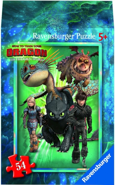 Ravensburger Mini Puzzle Dragon 3 Hidden World Astrid Kinderpuzzle 54 Teile 0943567