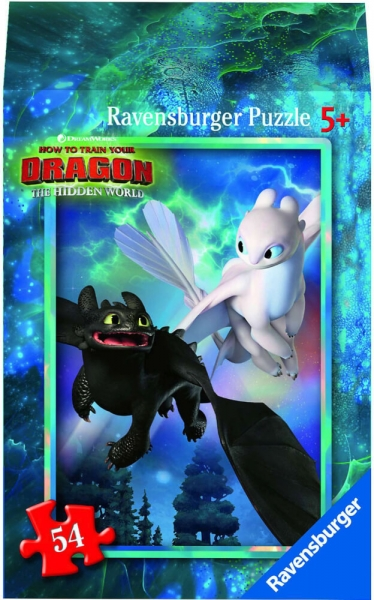 Ravensburger Mini Puzzle Dragon 3 Hidden World Astrid Kinderpuzzle 54 Teile 0943568
