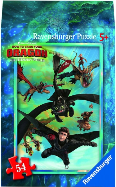 Ravensburger Mini Puzzle Dragon 3 Hidden World Astrid Kinderpuzzle 54 Teile 0943569
